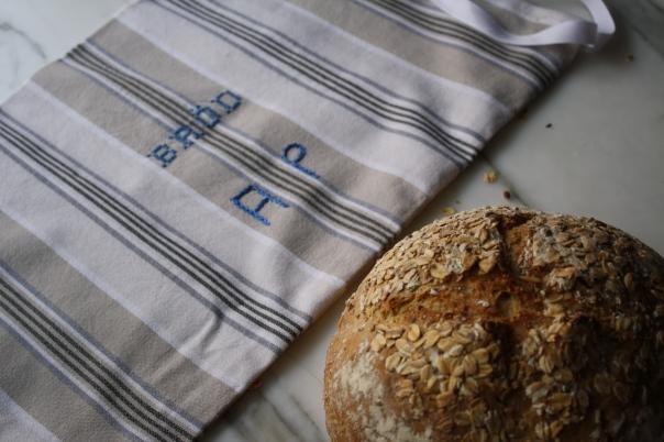linen brod bag