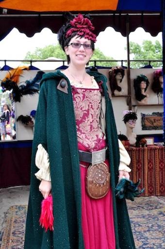 Meet Becky from the Renaissance Faire.