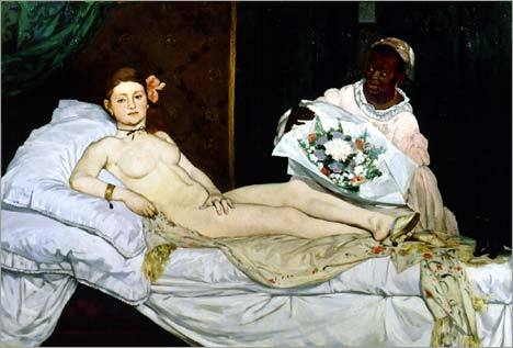 Manet. Olympia.