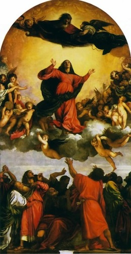 Assumption of the Virgin Titian