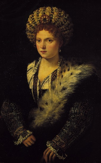 Portrait of Isabella d