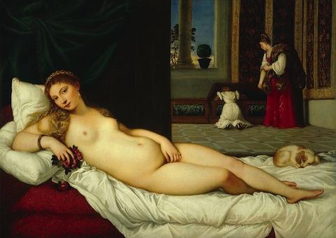 Venus of Urbino Titian
