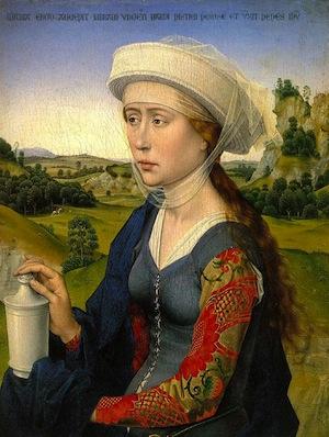 Braque Family Triptych. Van Der Weyden.