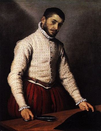 The Italian Tailor. Moroni, Giovanni Battista