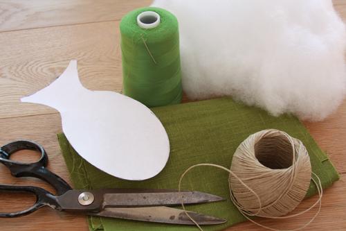 DIY Linen Cat Toy