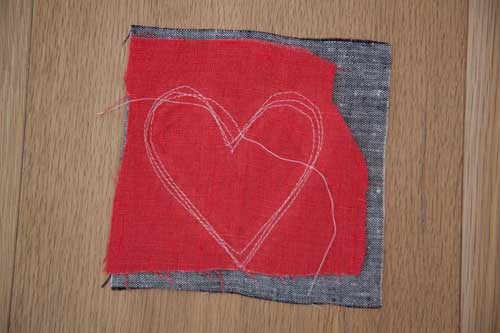 Diy Heart Hot Pad