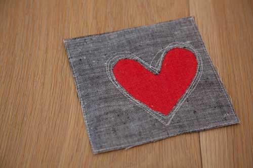 DIY Heart Hot Pad