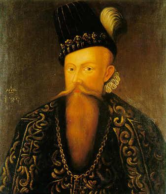 John III of Sweden. Johan Baptista van Uther. in 1582.