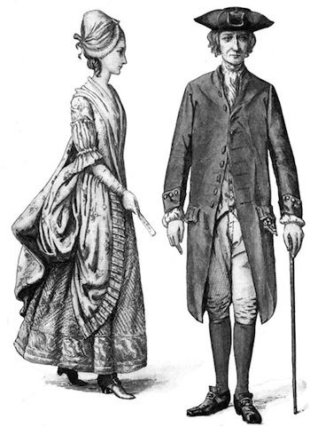 A Brief Look at Colonial Attire.