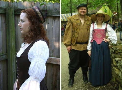See How Elizabeth Creates Historical Garb.