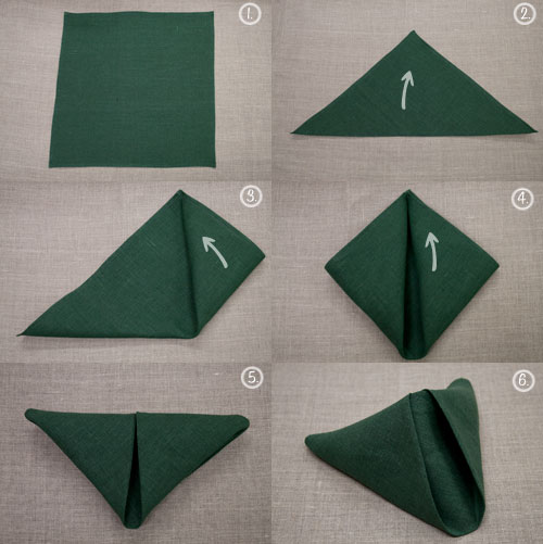 paper napkin folding How to fold a napkin into a rose a paper napkin rose can make a lovely table decoration that is sure to impress a date, dinner party guests, or a young child just.