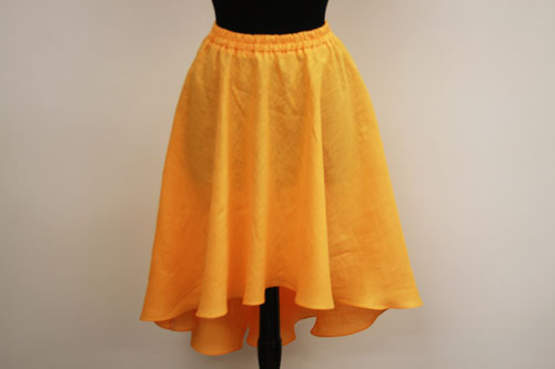 Sew a High-low skirt.