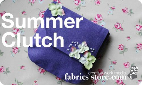 Summer Clutch Bag Tutorial