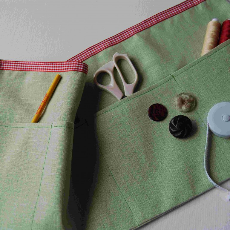 Lined Crafter's Apron