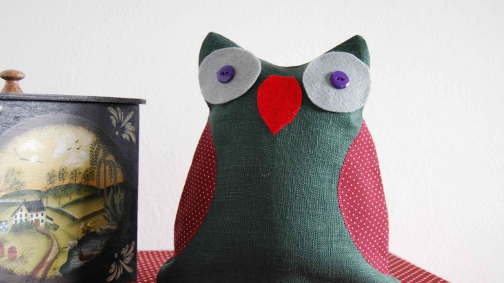 Owl Door Stop Tutorial