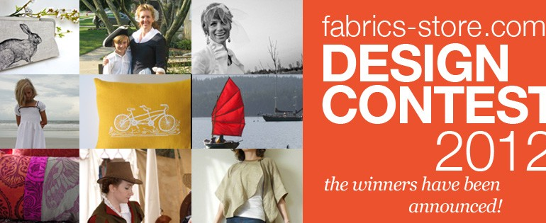 The Winners of Fabrics-store.com's 2012 Design Contest!