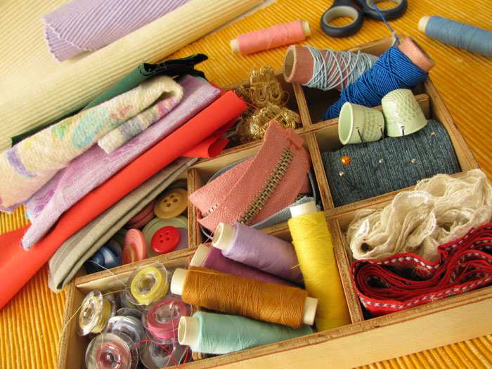 Sewing Tips: Tricky Organization