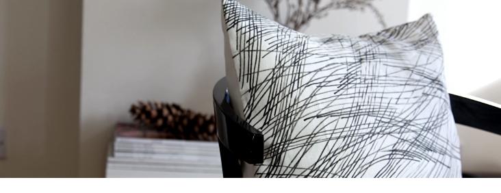 Make your mark Pillow Tutorial