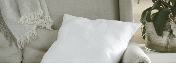 LINEN PILLOWS TUTORIAL