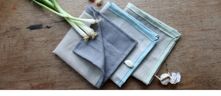 Double Sided Gorgeous Linen Napkin Tutorial