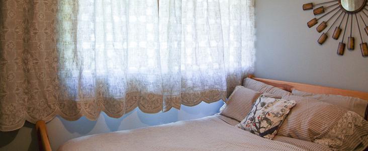 Scalloped Hem Curtains Tutorial