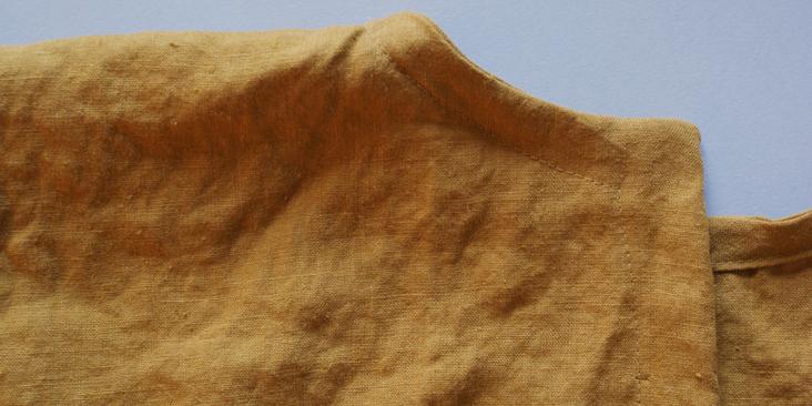 sewn collar