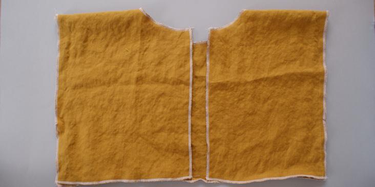 sewn shoulder