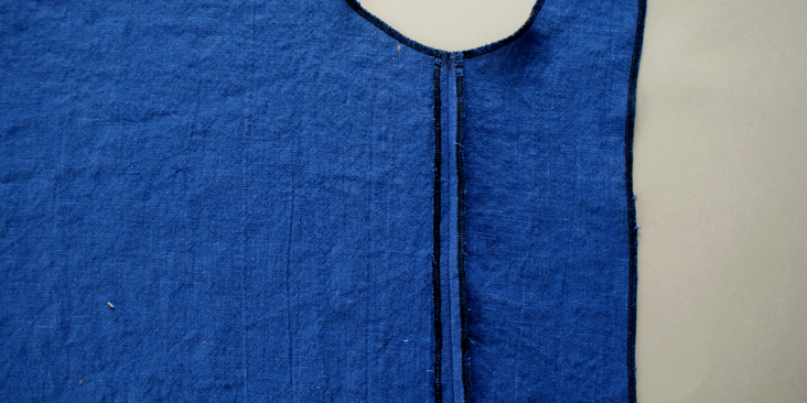 sewn side seam