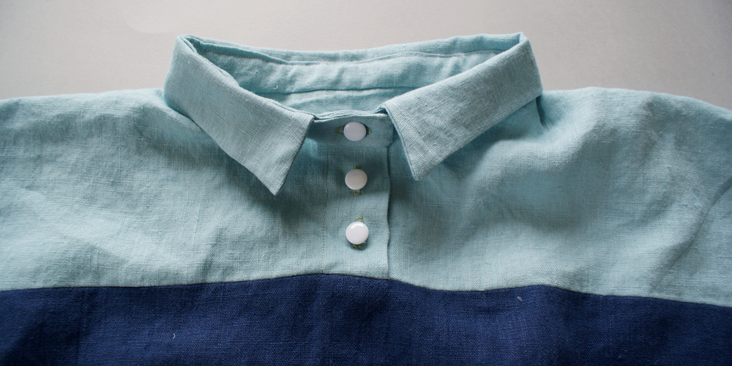 sewn buttons