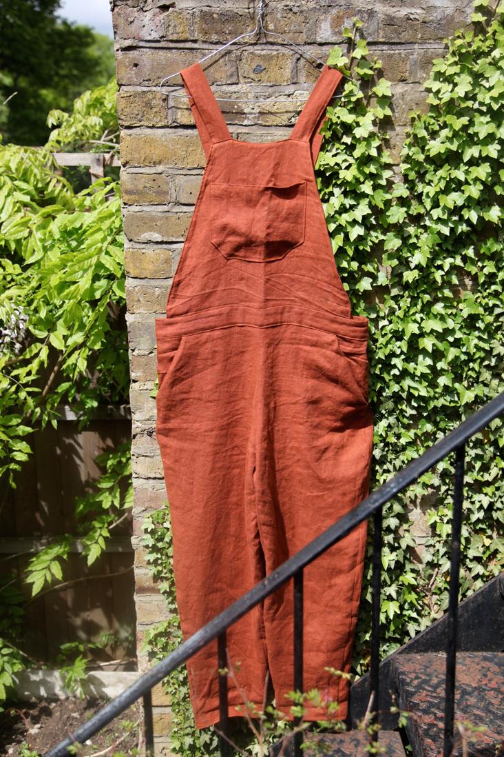 Linen Overalls Tutorial