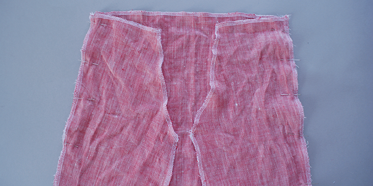 front side seam 2