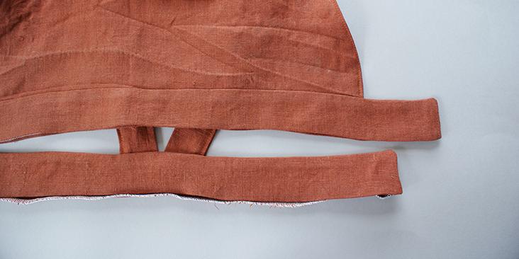 stitched waist band
