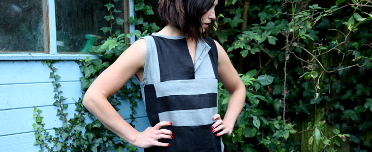 Linen Block Dress Tutorial
