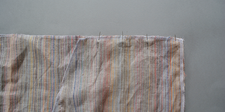top shoulder seam