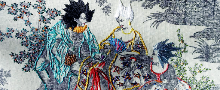 Artisan Embroidery: Richard Saja and Historically Inaccurate Decorative Arts