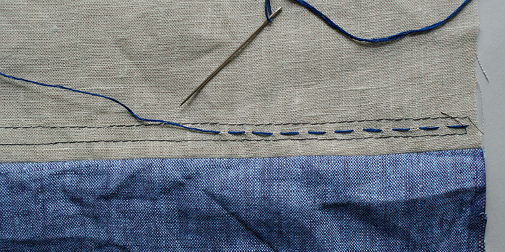 line embroidery