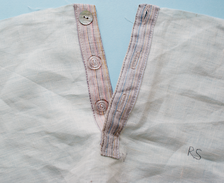 Sewing Essentials How To Sew A Partial Button Placket