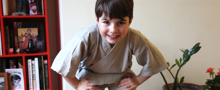 Children's Karate Pyjamas Tutorial