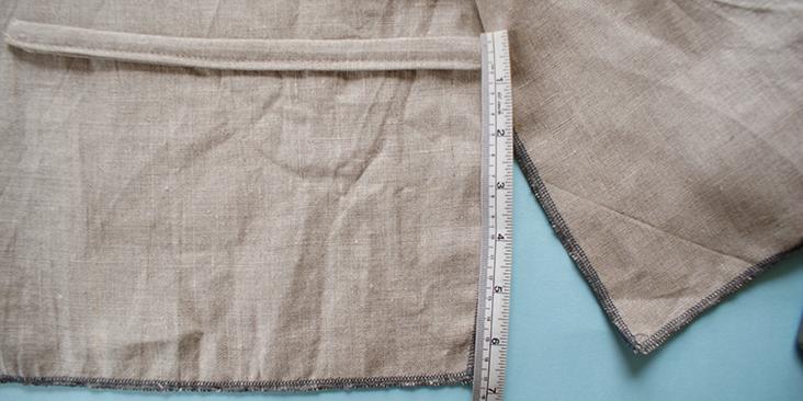 measure strap outside