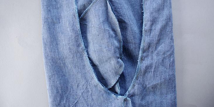 pinned crotch