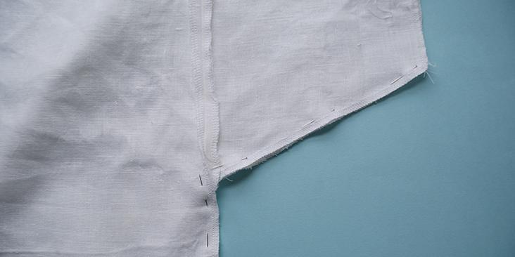 pinned sleeve