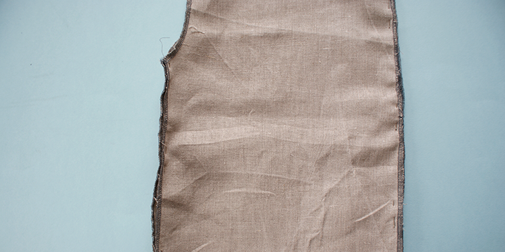 pinned trousers side seams