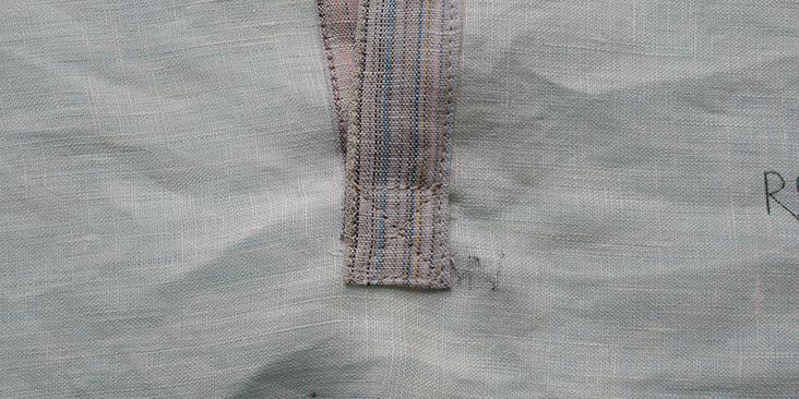 sewn cross stitch