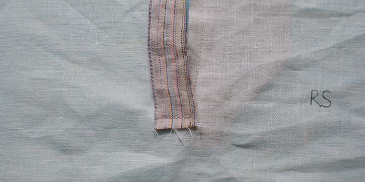ss sew front bottom