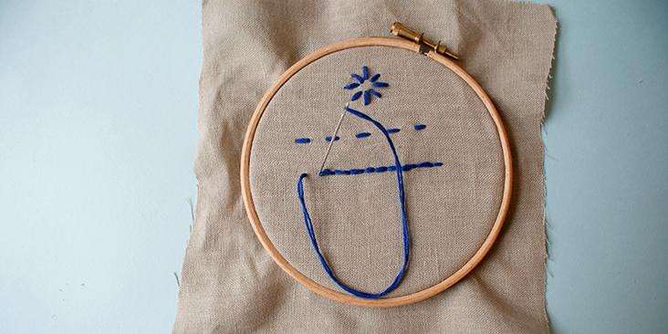 back stitch 3