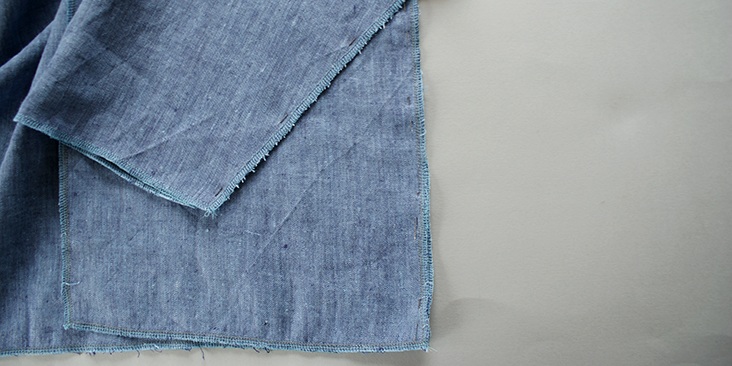 pinned side seam