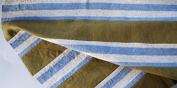 sewn stripes