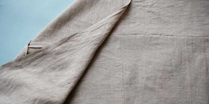 sewn top