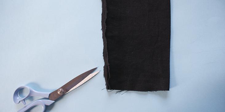 snip sleeve opening