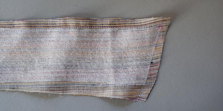 stitched collar